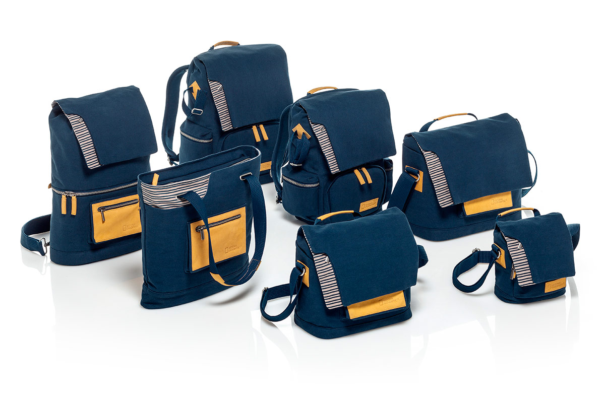 National Geographic and Manfrotto release sporty line of bags