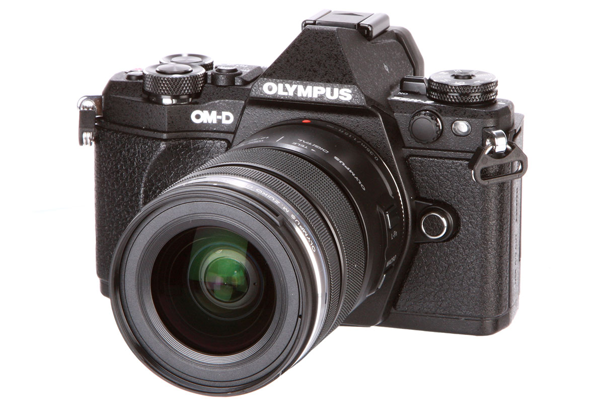 Olympus OM-D E-M5 Mark II with 12-50mm f/3.5-6.3 EZ lens