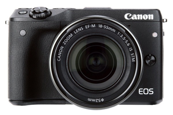 Canon EOS M3 front
