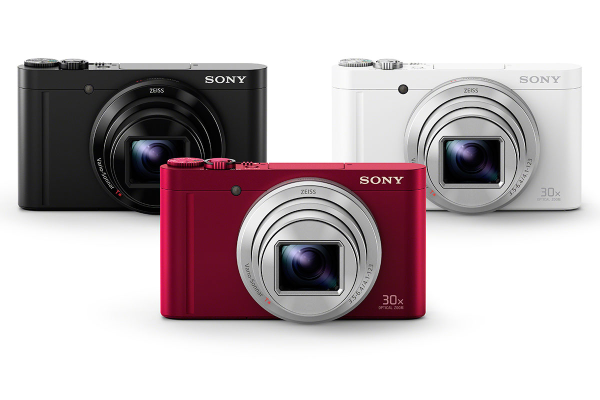 Sony unveils HX90V and WX500 compacts with 30x zooms