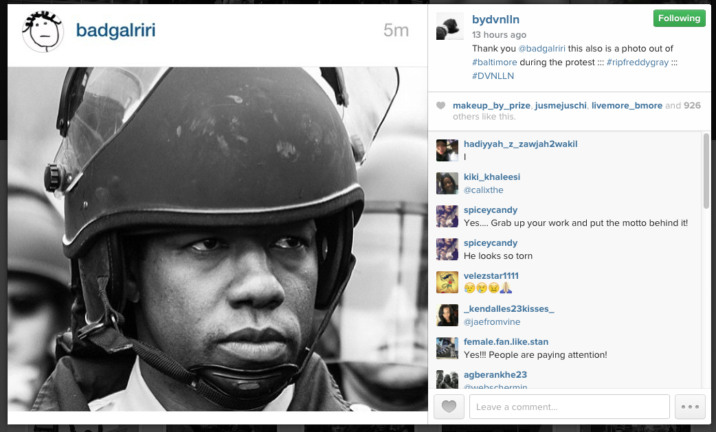 Amateur photographer's powerful images of Baltimore riots turn spotlight on citizen journalism