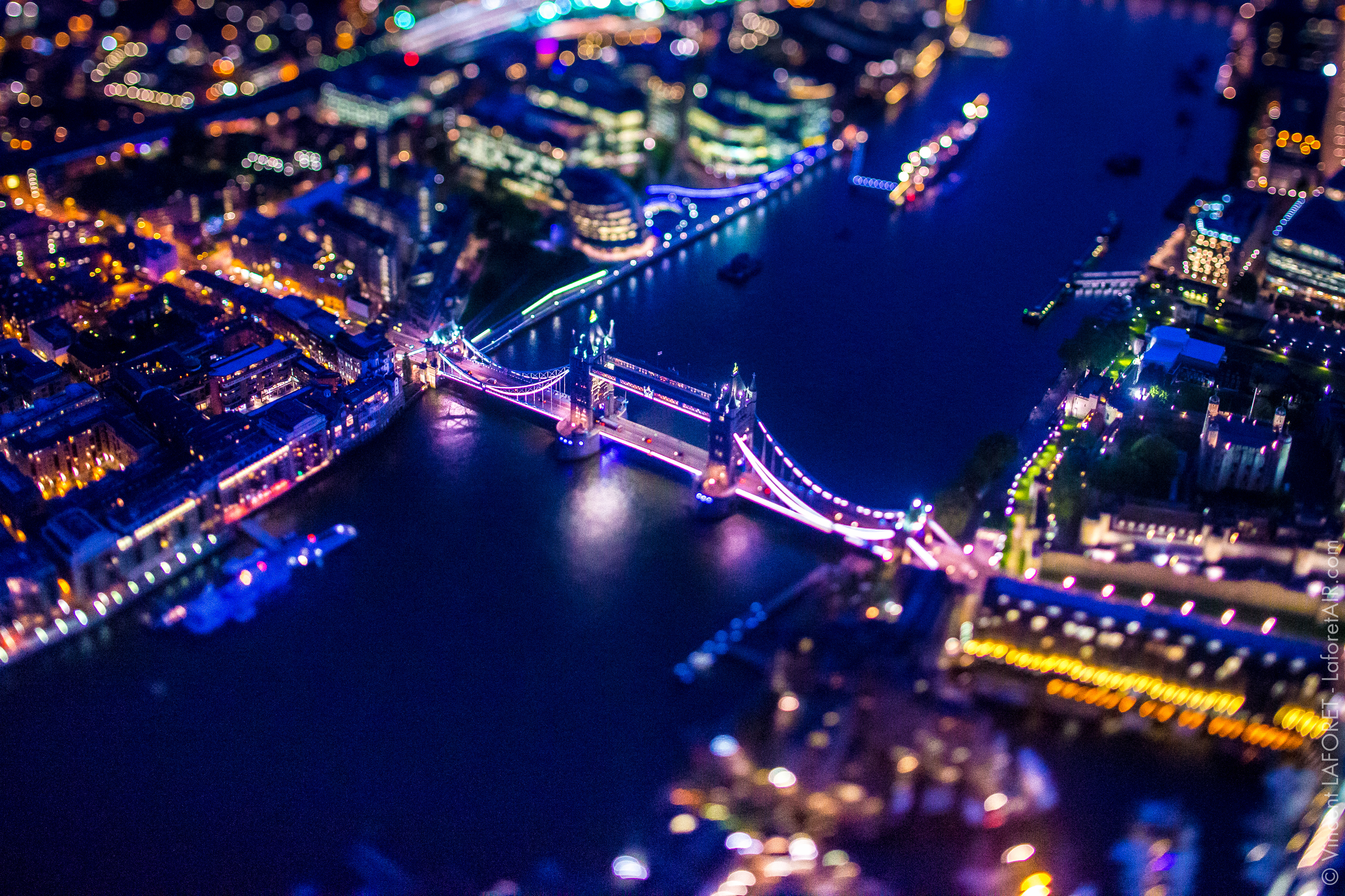 London from 7,500 feet: Vincent Laforet's amazing cityscapes