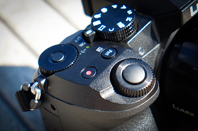 The Lumix G7's command dials are rather plasticky and don't offer a great deal of resistance when they're turned