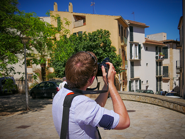 Shooting in the city streets of Palma de Mallorca with the new Panasonic Lumix G7