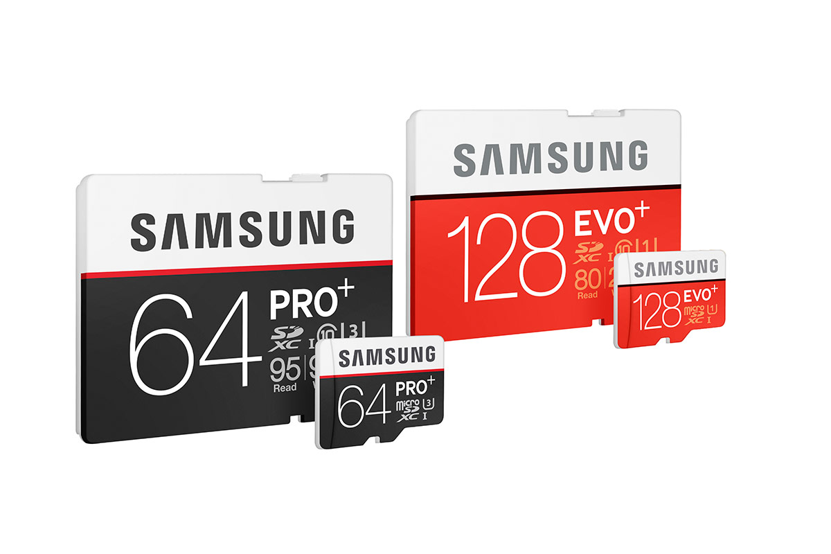 Samsung announces 4K-supporting PRO Plus and EVO Plus memory cards