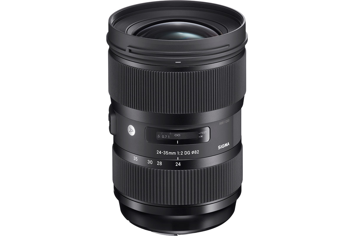 Sigma announces full-frame 24-35mm zoom with constant f/2 aperture