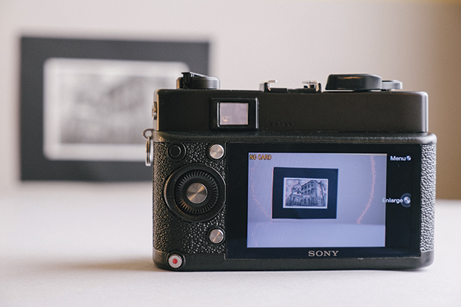 Converting a film camera to digital using 3D printed parts: The FrankenCamera