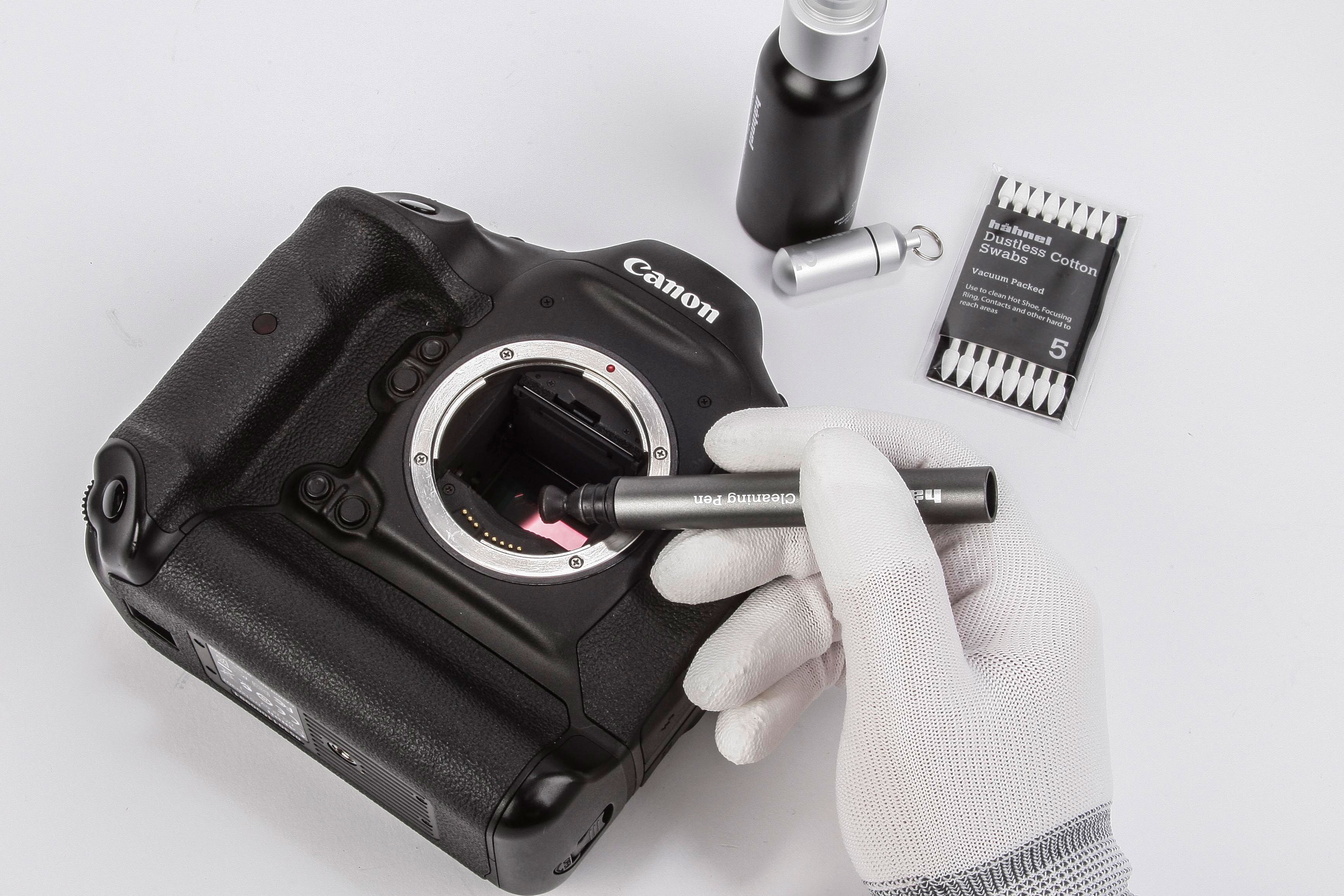When was the last time you cleaned your digital camera sensor?
