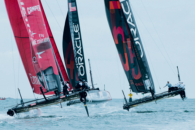 America's Cup photography guide