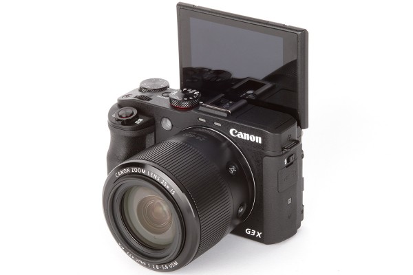 Canon G3 X selfie screen