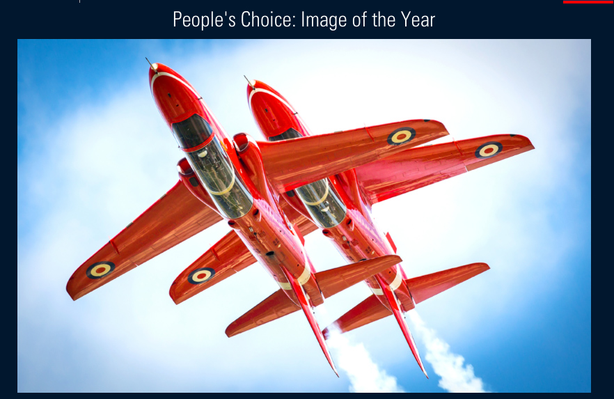 Best RAF photos revealed –  vote for your favourite