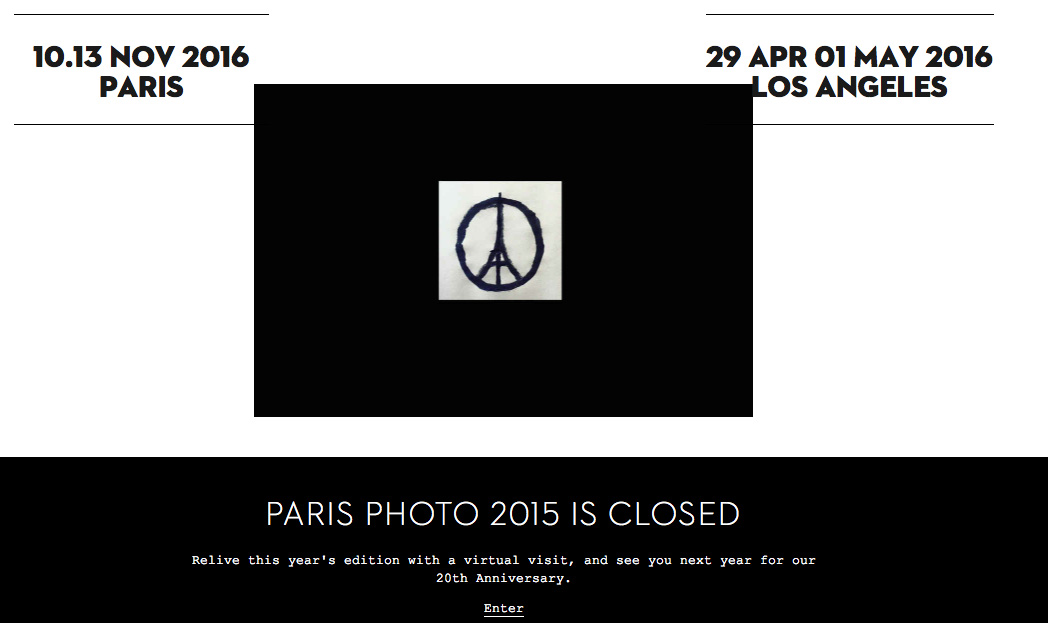 Paris photo galleries plan special shows in response to terror attacks