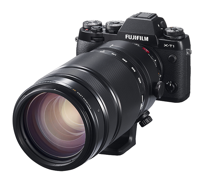 Fuji unveils its first 'super-telephoto' zoom for X-series
