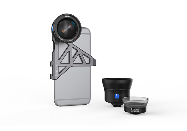 Zeiss reveals its first lenses for iPhones at CES