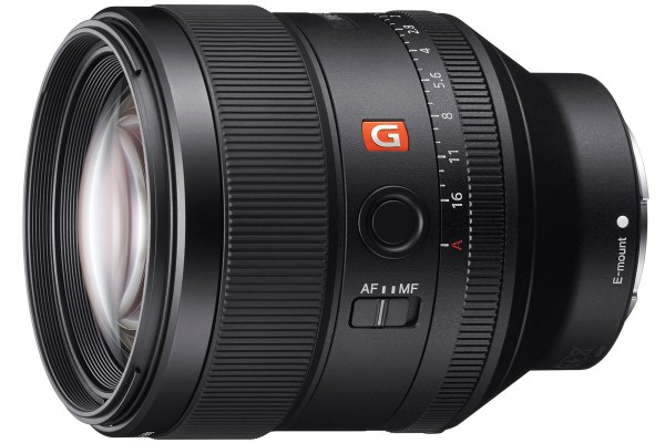 Sony FE 85mm F1/4 GM telephoto prime