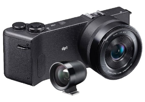 DP Sigma dp1 Quattro compact camera and a VF 31 optical viewfinder