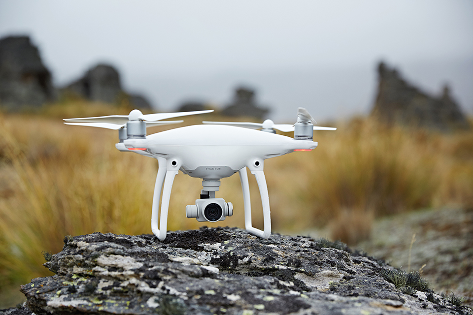 New DJI Phantom 4 drone is built to fly around obstacles and cut risk of collision