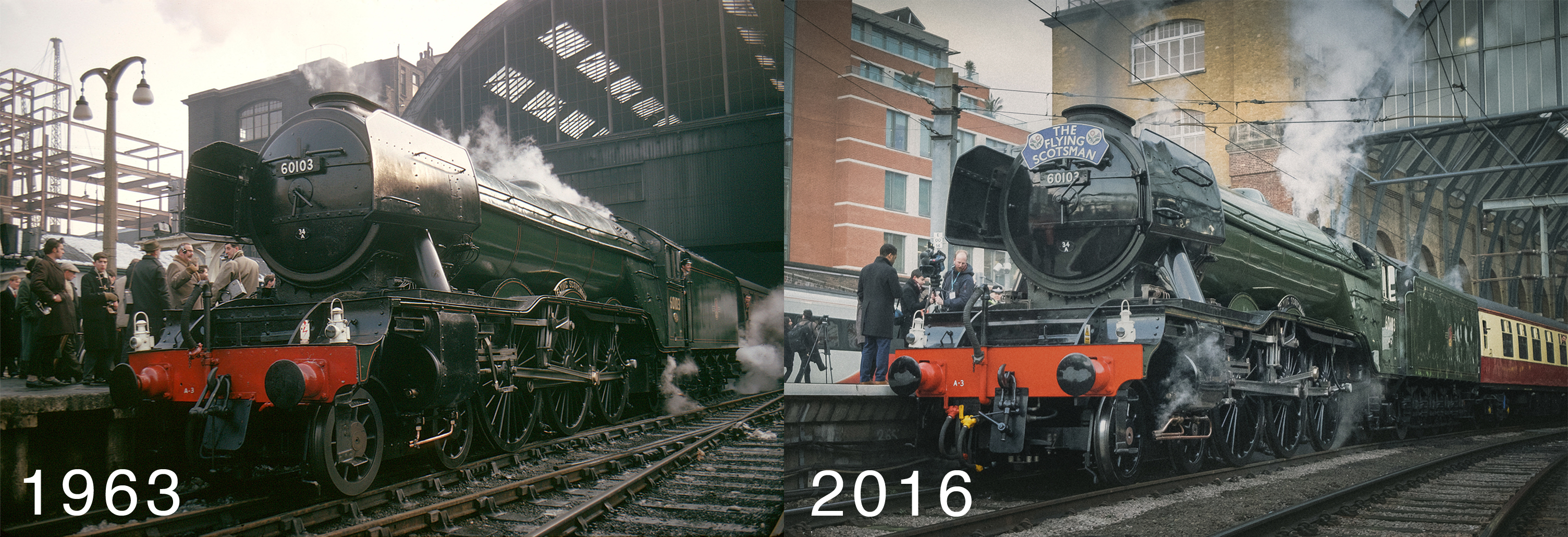 Photo Insight with Michael Topham – The Flying Scotsman at Kings Cross