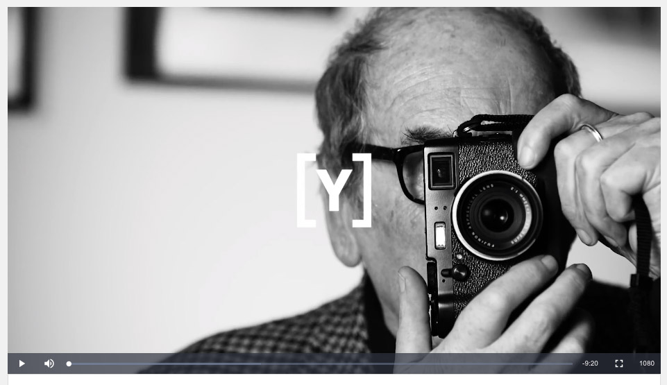 Magnum photographer David Hurn reveals secret to success: a good pair of shoes