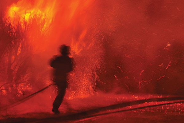 Photo appraisal: Firefighter