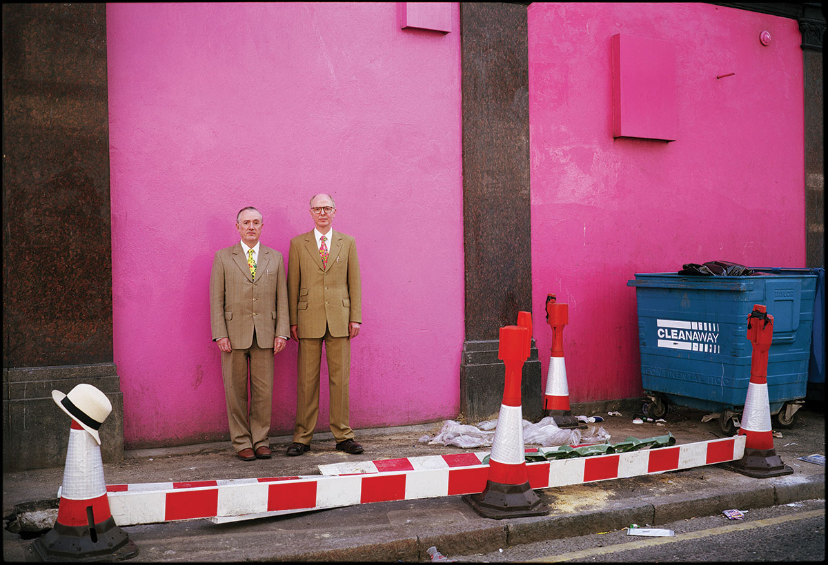 Photo insight with Harry Borden: Gilbert & George