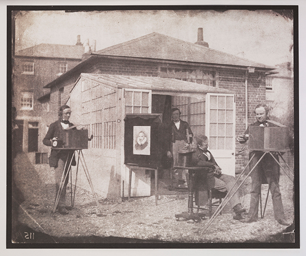 William Henry Fox Talbot and Nicolaas Henneman at the Reading establishment, 1846 © National Media Museum, Bradford