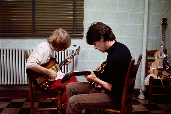 Brian and Keith rehearse, by Gered Mankowitz © Bowstir Ltd/Gered Mankowitz