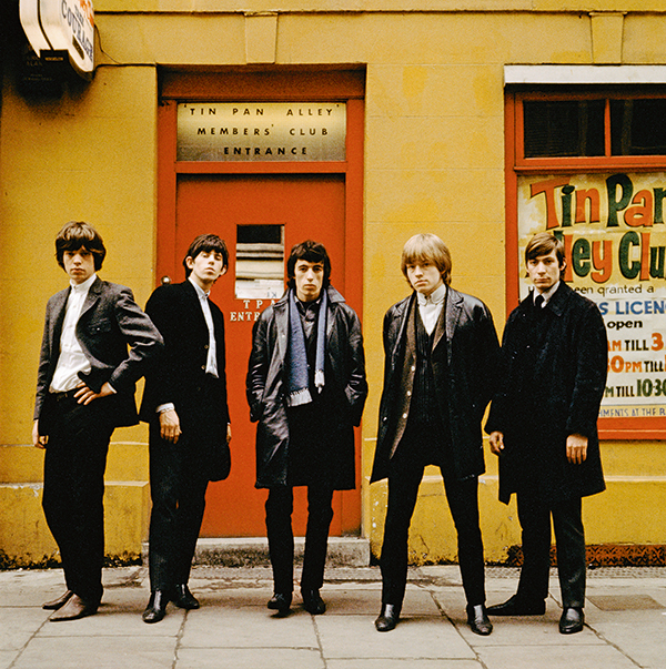 Outside the Tin Pan Alley Club in London, 1963, by Terry O'Neill © Iconic Images/Terry O'Neill