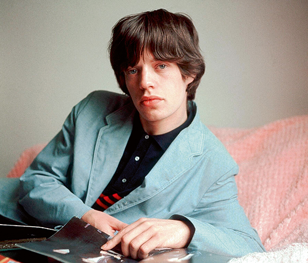 Portrait of Mick Jagger in July 1964, by Terry O'Neill © Iconic Images/Terry O'Neill