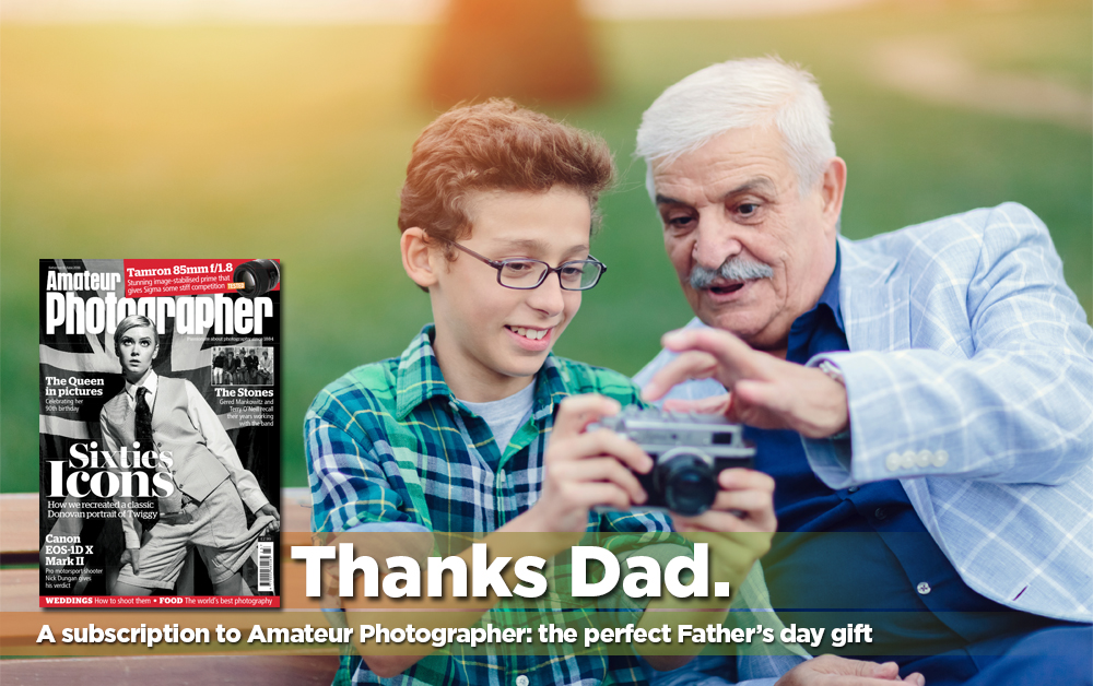 Grab Dad the perfect Father's Day gift with Amateur Photographer