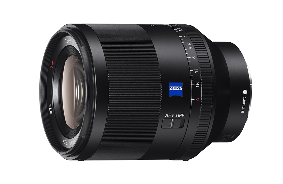 Sony reveals Zeiss Planar T* FE 50mm f/1.4 ZA for Alpha 7