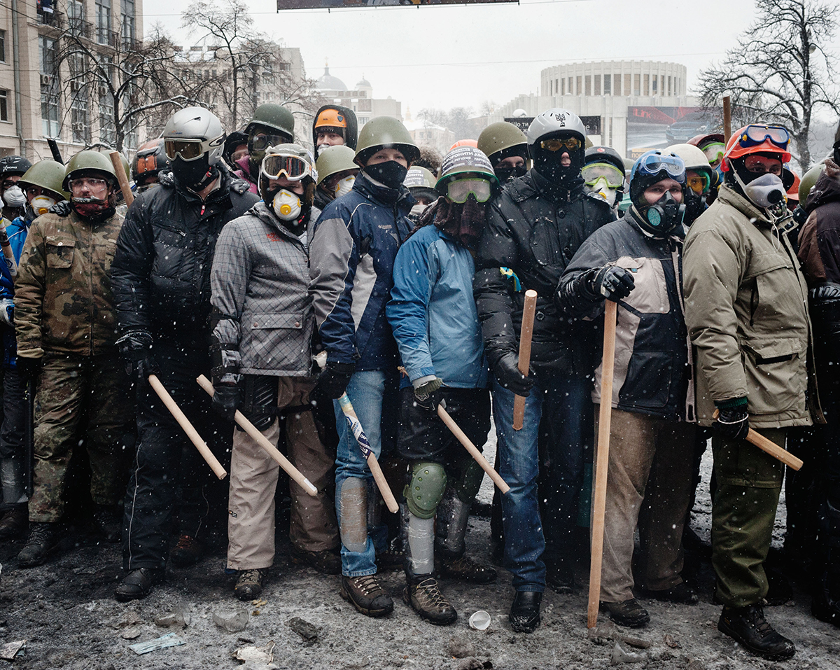 © Guillaume Herbaut, shortlisted: Ukraine Maidan to Donbass