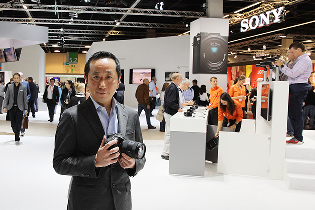 Sony imaging business defies digital camera decline (interview)