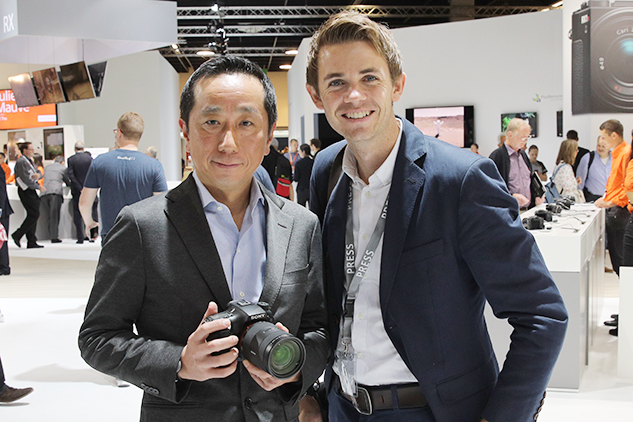Photokina Interview: Kimio Maki of Sony 'A-mount is a keeper'
