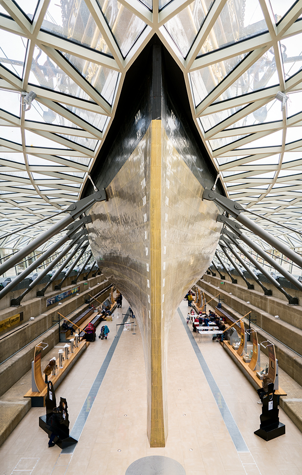 'The Cutty Sark', taken with the Sony Alpha 7R II 24mm, 1/160sec at f/8, ISO 800