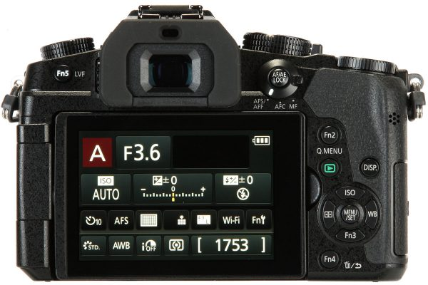 Panasonic G80 back