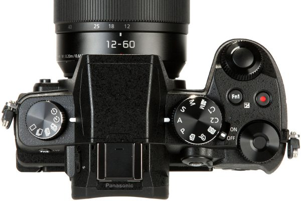 Panasonic G80 top