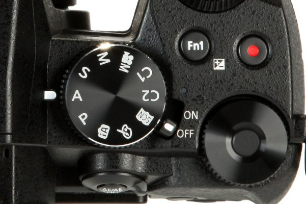 Panasonic G80 video controls