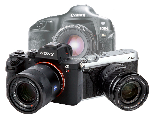Moving from a DSLR to a mirrorless camera