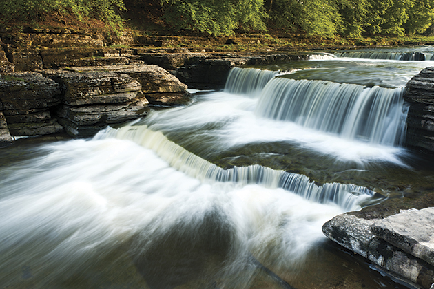 How to photograph Aysgarth Falls in the Yorkshire Dales: top tips and best locations