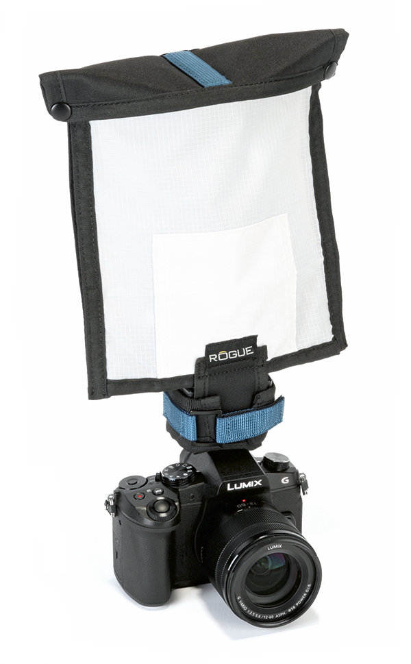 rogue flashbender 2 mirrorless soft box kit on nissin-i40