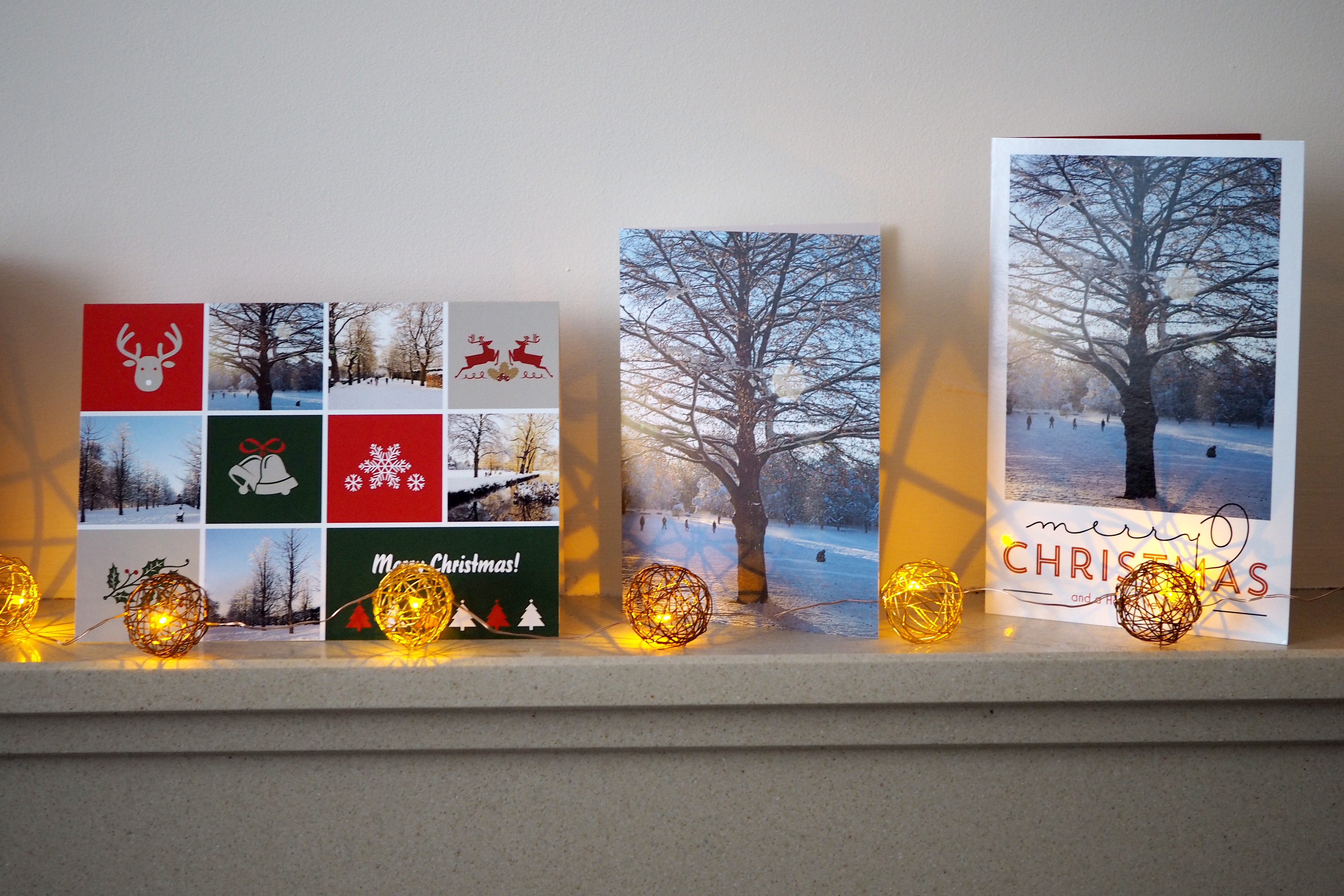 How to use your own photos for Christmas cards