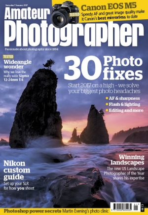 amateur photographer cover Jan 7 2017