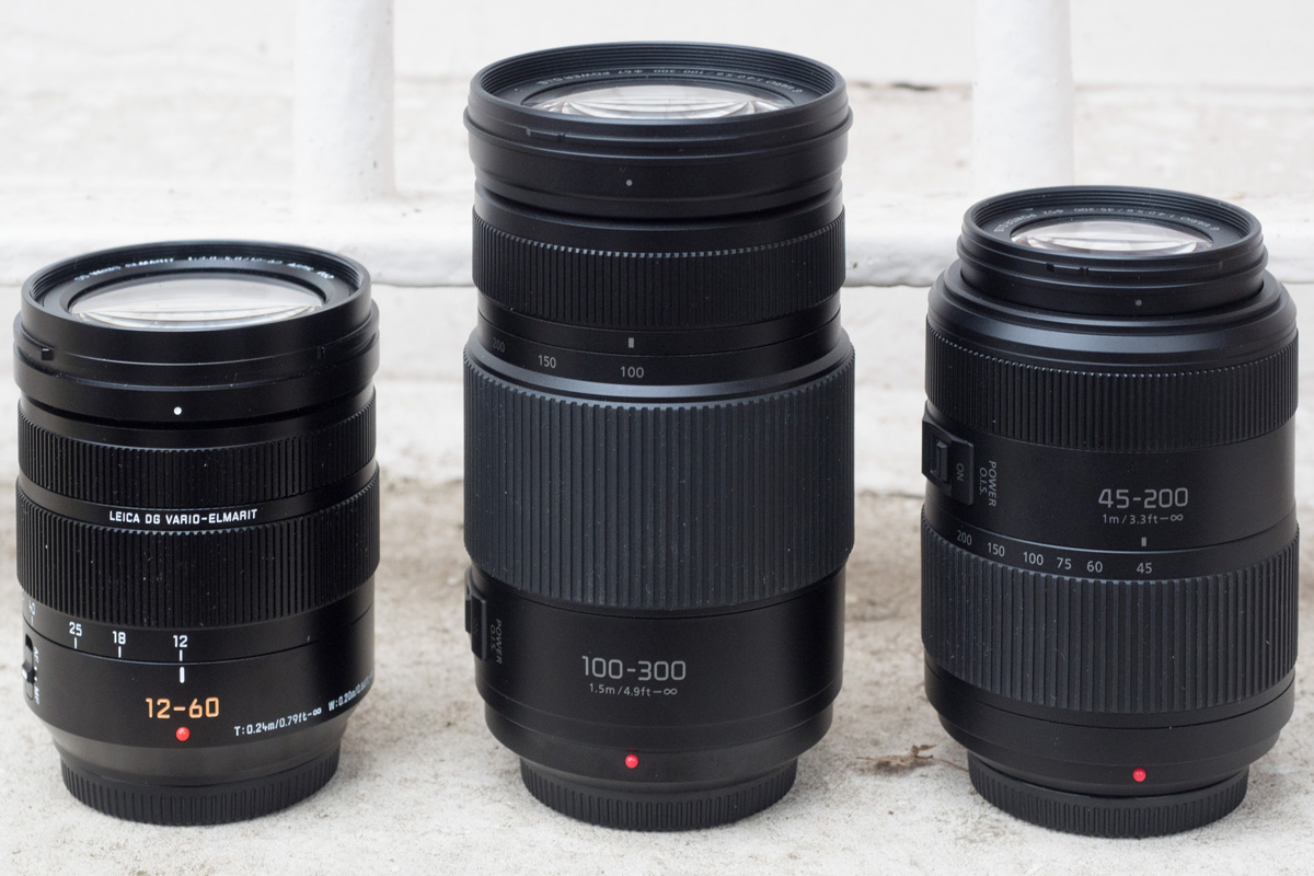 Panasonic introduces Leica 12-60mm f/2.8-4 and updates four lenses