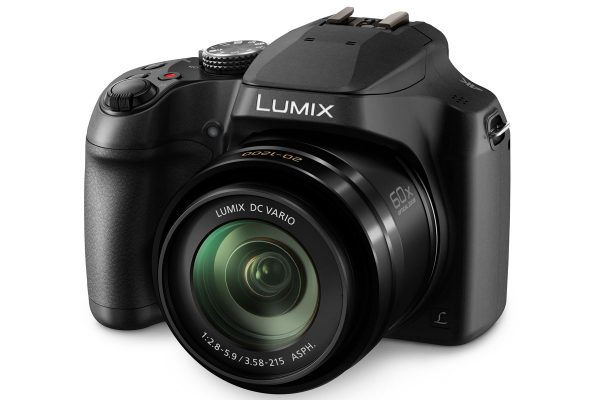 The Lumix FZ82 offers an objective with a usefully wide 20mm-equivalent setting.