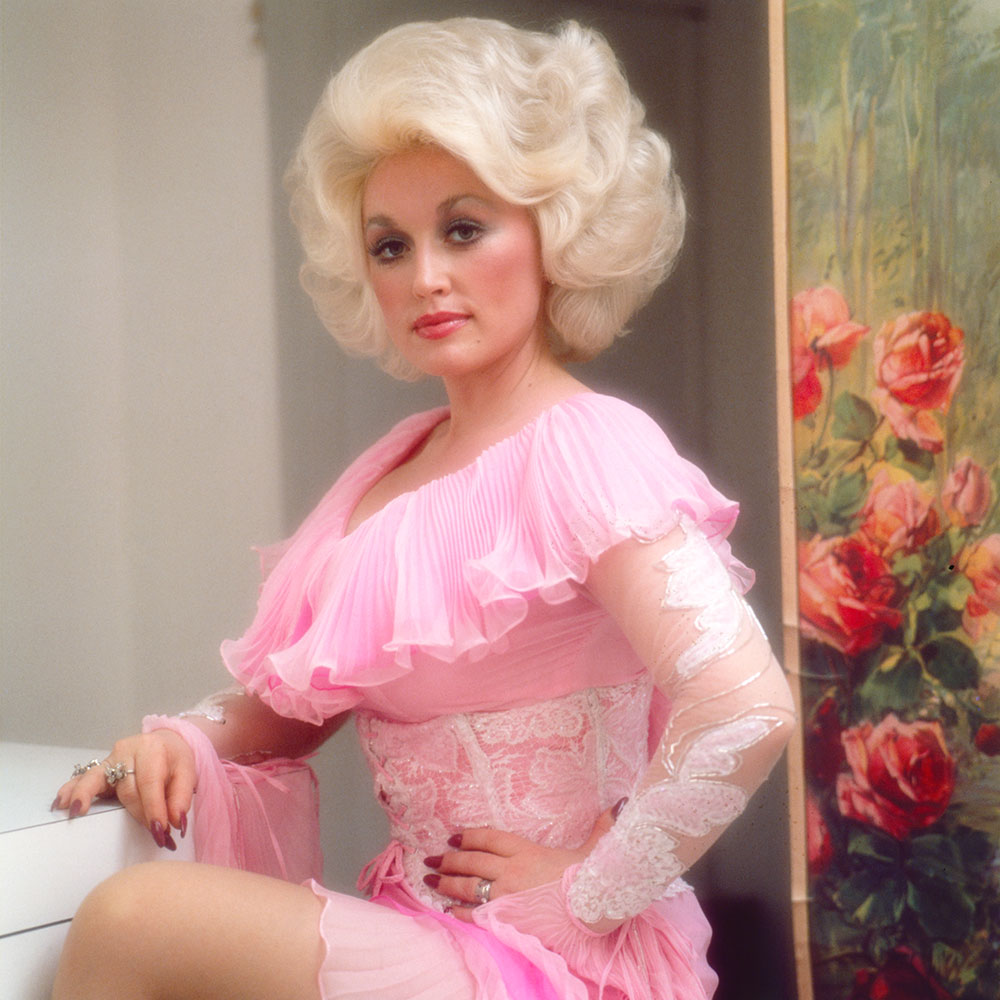 Ed Caraeff Dolly Parton Heartbreaker shoot, 1978