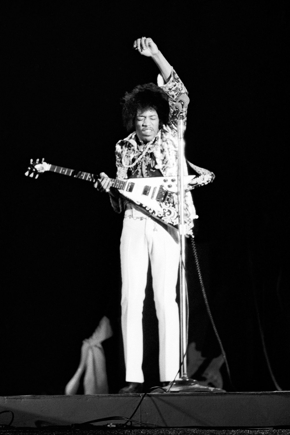 Ed Caraeff Jimi Hendrix Hollywood Bowl 1967