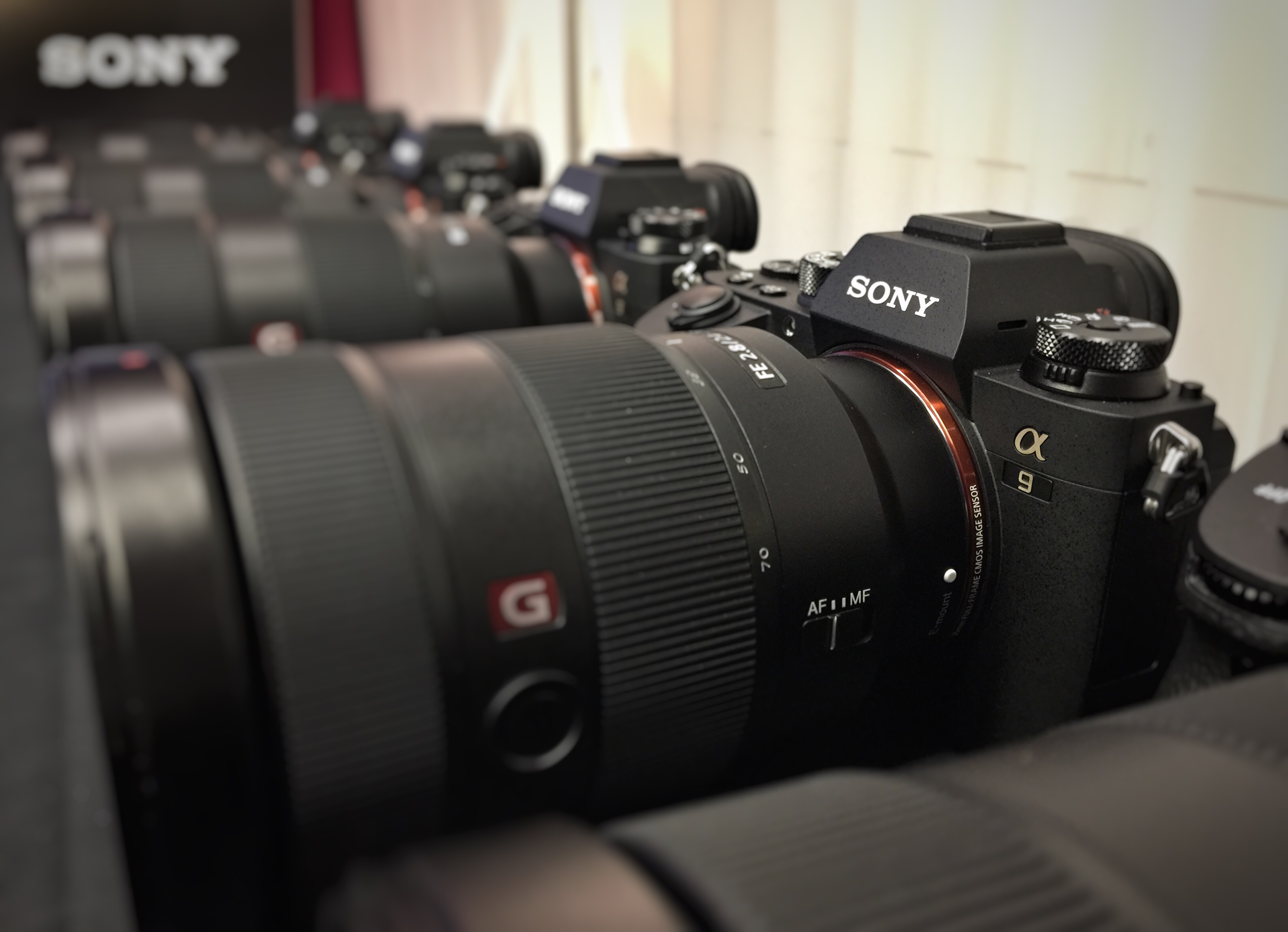 Sony A9 vs The Competition