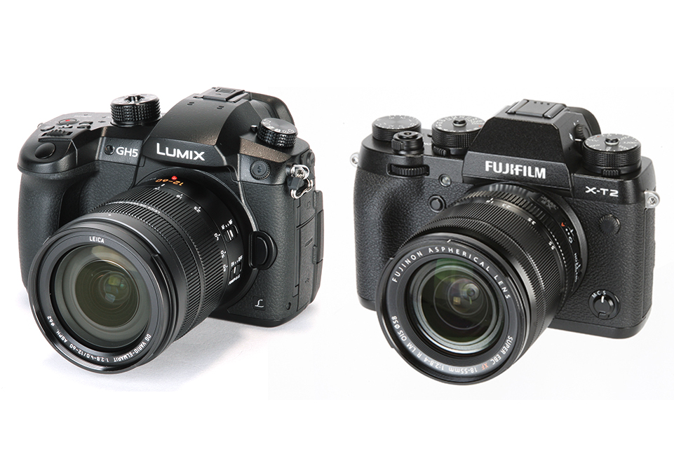 Panasonic GH5 vs Fuji X-T2