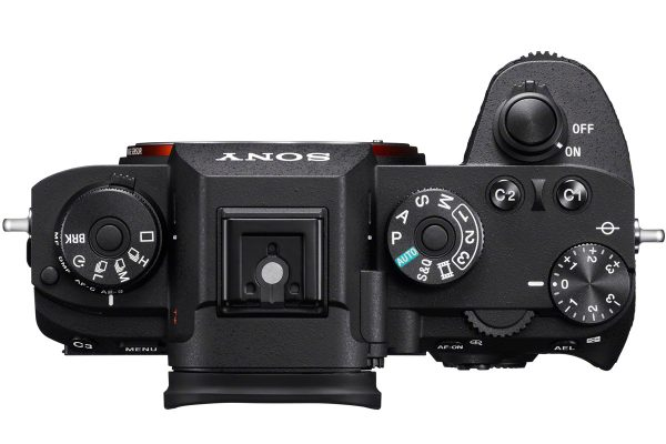Sony A9 - Top